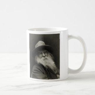 El poeta de risa Walt Whitman del filósofo Tazas