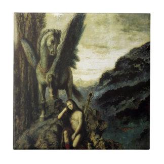 El poeta del viajero de Gustave Moreau Azulejos