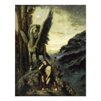 El poeta del viajero de Gustave Moreau Fotografias