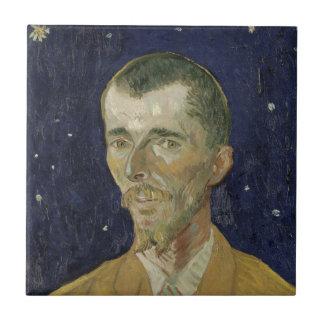 El poeta Eugene Boch de Vincent van Gogh Azulejo Ceramica