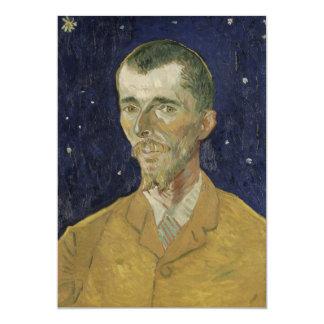 """El poeta Eugene Boch de Vincent van Gogh Invitación 5"""" X 7"""""""
