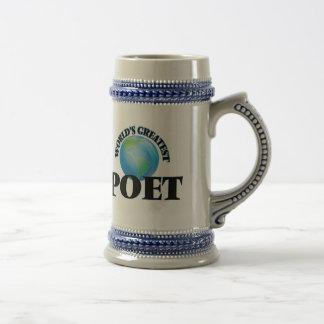 El poeta más grande del mundo jarra de cerveza