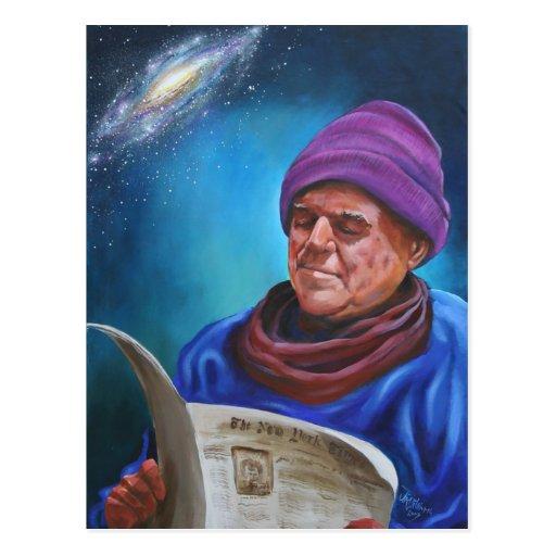 El poeta tarjeta postal