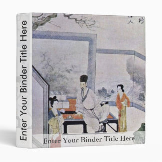 ¿El poeta y dos cortesanas, por el ¼ Œ de T'Ang Yi