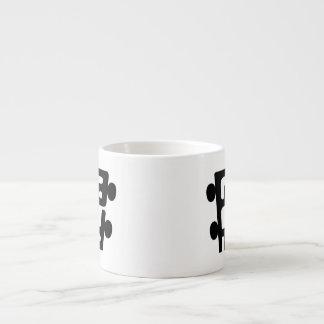 El PoHo Demi - clase de Taza Espresso