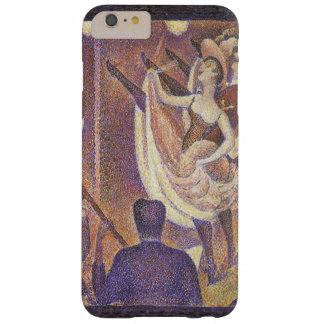 El Pointillism del vintage, la poder puede bailar Funda De iPhone 6 Plus Barely There