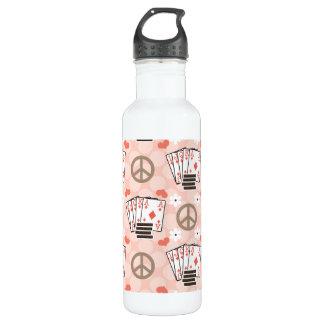 El póker BPA del amor de la paz libera