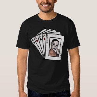 El póker de la mano del KRW que gana carda la Playeras