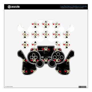 El póker se adapta a la piel del regulador PS3 Mando PS3 Skin