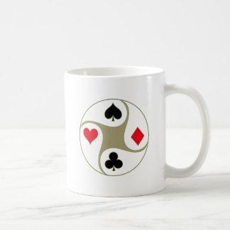 El póker se adapta a las tazas