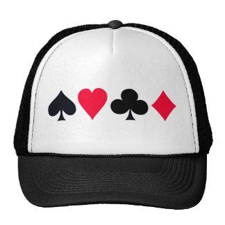 El póker se adapta al gorra