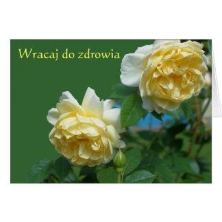 El polaco consigue a rosas bien la tarjeta de nota