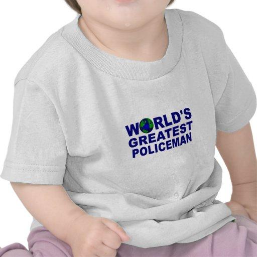 El policía más grande del mundo camiseta