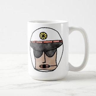 El policía taza de café