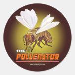 El Pollenator… Etiquetas Redondas