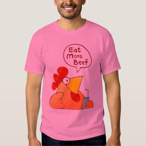 El pollo de la camisa el   del pollo del dibujo