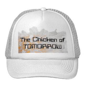 El pollo de MAÑANA Gorros Bordados