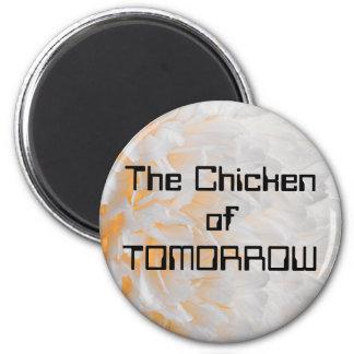 El pollo de MAÑANA Imanes De Nevera