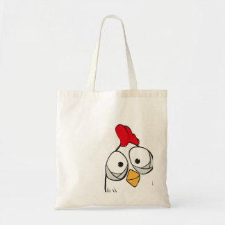 el pollo dice hola bolsas