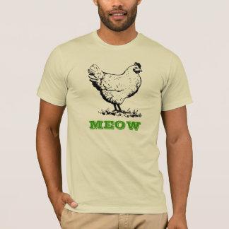 El pollo va camiseta del maullido