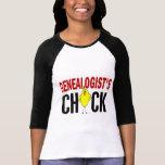 El polluelo 1 del Genealogist Camiseta