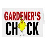 El polluelo 1 del jardinero felicitacion