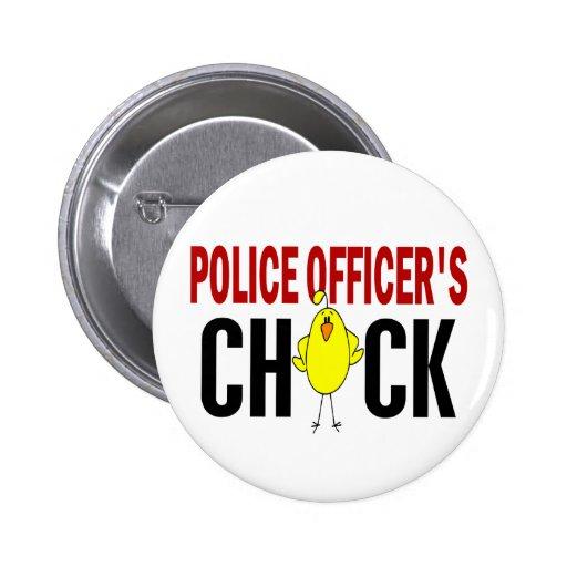 El polluelo 1 del oficial de policía pins