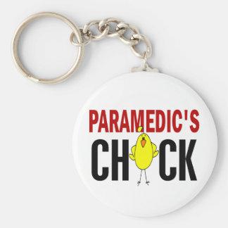 El polluelo 1 del paramédico llavero redondo tipo pin