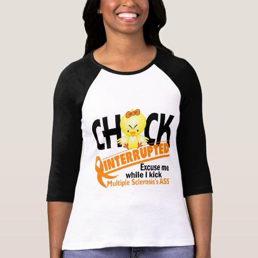 El polluelo de la esclerosis múltiple interrumpió  camisetas