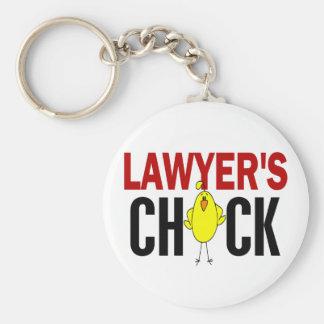 El polluelo del abogado llavero redondo tipo pin
