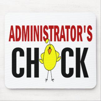 El polluelo del administrador alfombrillas de raton