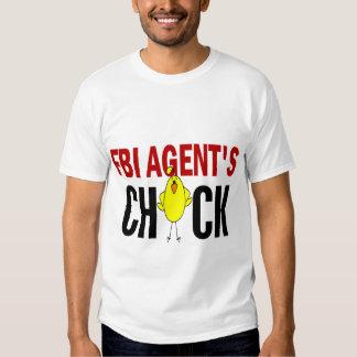 El polluelo del agente del FBI Camisas
