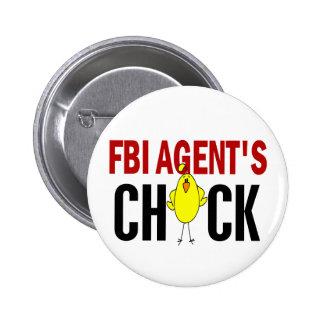 El polluelo del agente del FBI Pins
