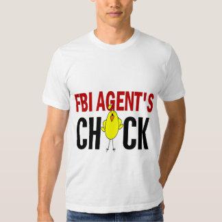 El polluelo del agente del FBI Playeras