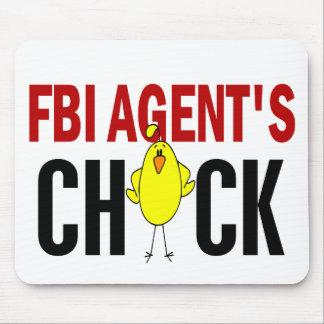 El polluelo del agente del FBI Tapetes De Ratón