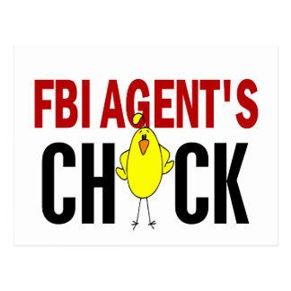 El polluelo del agente del FBI Postales
