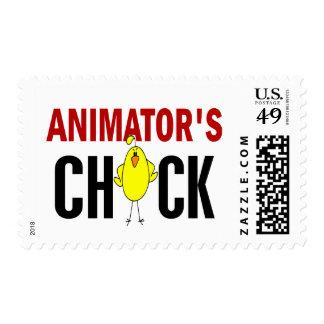 El polluelo del animador sellos