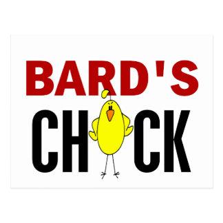 El polluelo del bardo postal
