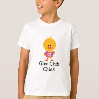 El polluelo del club de júbilo embroma la camiseta polera