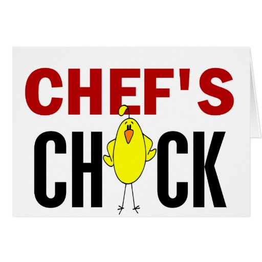 El polluelo del cocinero tarjetas