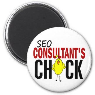 El polluelo del consultor de SEO Imán Redondo 5 Cm