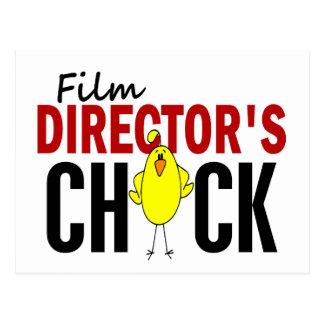 El polluelo del director de cine postal