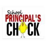 El polluelo del director de escuela postal