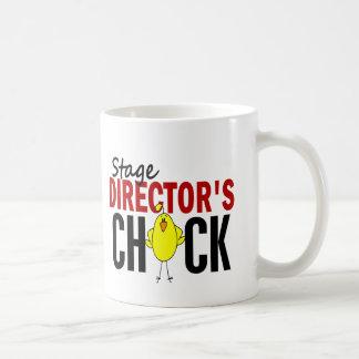 El polluelo del director de etapa taza de café