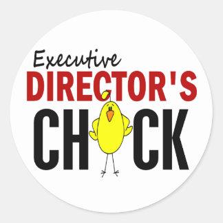 El polluelo del director ejecutivo