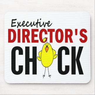 El polluelo del director ejecutivo tapete de ratones
