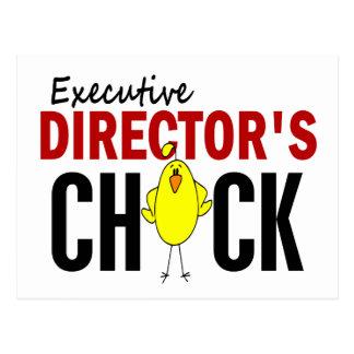 El polluelo del director ejecutivo postal