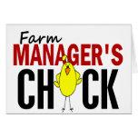 El polluelo del encargado de la granja felicitación
