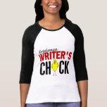 El polluelo del escritor free lance camisetas