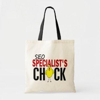 El polluelo del especialista de SEO Bolsas De Mano